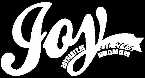 Joy Logo DeinClub weiß
